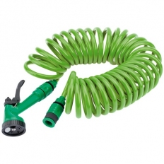 Draper 83984 Recoil Hose with Spray Gun and Tap Connector (10M)