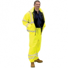 Draper 84729 High Visibility Over Trousers - Size M