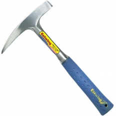 Estwing E323LP 22oz Long Handle Geological Pointed Tip Rock Pick Blue Shock Reduction Grip Length 419mm