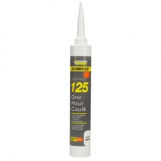 Everbuild 125C4 125 One Hour Caulk White C4