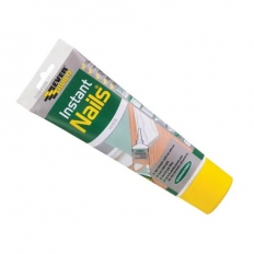 Everbuild Instant Nails High Strength Gap Filling Adhesive White Easi Squeeze Tube