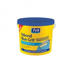 Everbuild FBBLUE5 Febond Blue Grit Plasterers Grip Coat Bonding Agent 5 Litre
