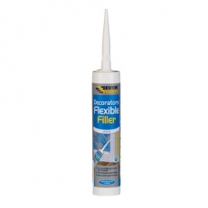 Everbuild Flexible Decorators Filler White C3 Tube