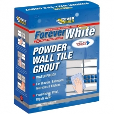 Everbuild Forever White Powder Wall Tile Grout