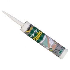 Everbuild Instant Nails High Strength Gap Filling Adhesive White C3 Tube