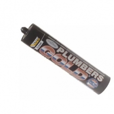 Everbuild Plumbers Gold Sealant And Adhesive 300ml