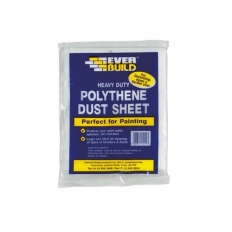 Everbuild POLYDUST Polythene Dust Sheets 12' x 9'