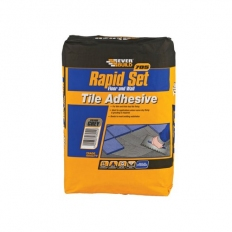 Everbuild RAPID10 705 Rapid Set Tile Mortar Grey 10kg