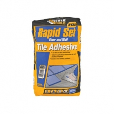 Everbuild RAPID20 705 Rapid Set Tile Mortar Grey 20kg
