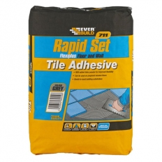 Everbuild RSPLUS10 711 Rapid Set Flexiplus Grey 10kg