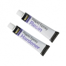 Everbuild Stick 2 Rapid Epoxy Tube 2 Part Adhesive 2 x 12ml Tubes