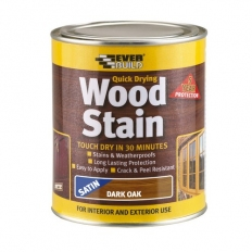 Everbuild WSTAINSDO02 Wood Stain Dark Oak 250ml