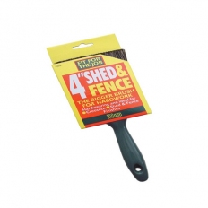 Fit For The Job FFJSFB Shed and Fence Brush 4""