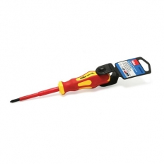 Hilka 33910180 VDE Screwdriver Soft Grip Pozi PZ1 x 80mm