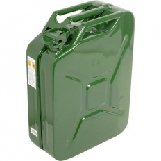 IGE JC20A Steel Jerry Can Green 20 Litre