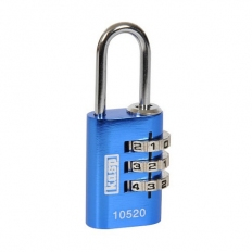 Kasp K10520BLUD Aluminium Combination Padlock 20mm Blue