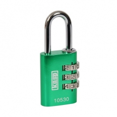 Kasp K10520GRED Aluminium Combination Padlock 20mm Green