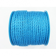 Kendon Rope and Twine ROPEREEL8110 Blue Poly Rope on Plastic Reel 8mm x 110 Metre