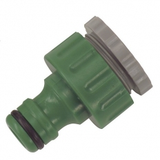 "Kingfisher 607SNCP Threaded Tap Connector 3/4"" and 1/2"""