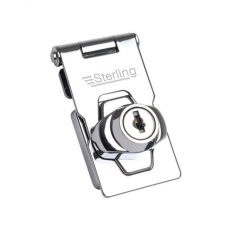 Sterling LGH100 100 Locking Hasp 76mm CP