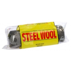 Metallic Wool Company MW25C Steel Wire Wool Roll Coarse 450 gram