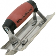 "Marshalltown M180D Groover Stainless Steel  6"" x 3"" Blade Durasoft Handle"