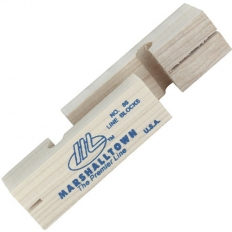 "Marshalltown M86 Wooden Line Blocks 1 Pair 3.5"" 95mm"