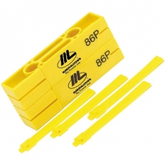 "Marshalltown M86P Plastic Line Blocks 2 Pairs 5"" 125mm"