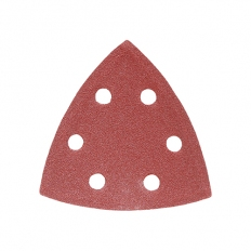 Addax 231410 Delta Sanding Pads 120 Grit 95 x 95mm Pack of 5