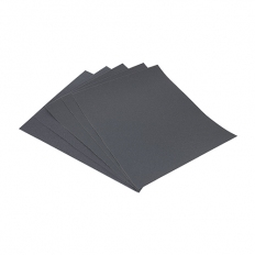 Addax 231485 Wet and Dry Sanding Sheets 600 Grit 230 x 280mm Pack of 5