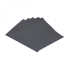 Addax 231636 Wet and Dry Sanding Sheets 1200 Grit 230 x 280mm Pack of 5