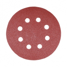 Addax 231992 Mix Orbital Sanding Discs 125mm 80 120 180 Grit Pack of 5