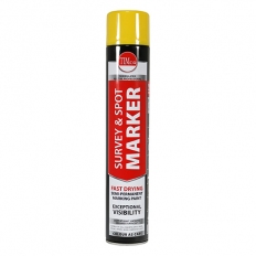 TIMco 237025 Survey and Spot Marker Yellow 750ml