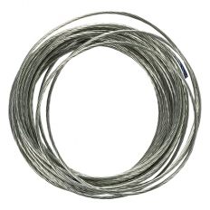 TIMco 35BWP Picture Wire Electro Brass 0.92Dia x 3.6M Bag of 1
