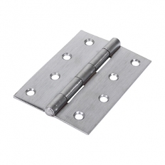 Veto 434555 1838 Butt Hinge Satin Chrome 100 x 70mm Plain Bag of 1 Pair