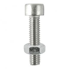 TIMco 516CAPSSP Cap Socket and Nut A2 Stainless Steel M5 x 16mm Bag of 8