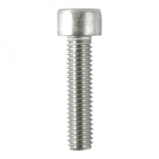 TIMco 625CAPSSX Socket Cap Screws Stainless Steel 6.0 x 25mm Bag of 10