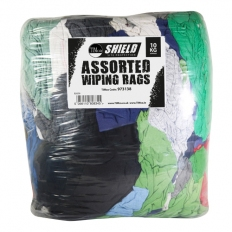 Shield 973138 Assorted Wiping Rags 10kg Bag