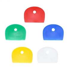 TIMco KEYCAPP Coloured Key Caps Mixed Colours Bag of 10