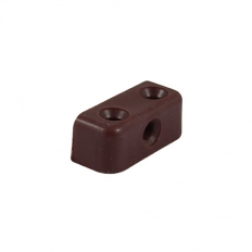 TIMco MBBROWNP Modesty Block Brown 34 x 13 x 13mm Bag of 10