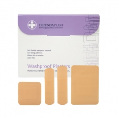 Reliance Medical MED536 Washproof Plasters Assorted Box of 100