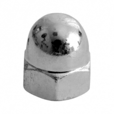 TIMco ND8SSX Hex Dome Nut DIN 1587 Stainless Steel M8 Bag of 10