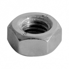 TIMco NH6SSX Hex Nut DIN 934 SS M6 Bag of 10