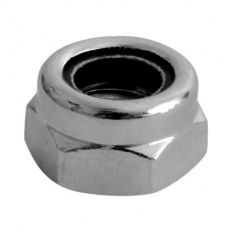TIMco NT5SSX T Nylon Nut DIN 985 Stainless Steel M5 Bag of 10