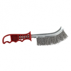 TIMco RWHB Red Handle Wire Brush Steel 255mm