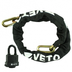 Veto SCWP Chain and 40mm Water Proof Padlock 8 x 1000mm