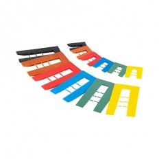 TIMco SHIM Assorted Horseshoe Shims 1mm to 6mm Bag of 200