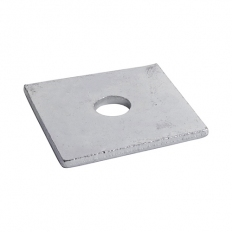 TIMco WS12503G Square Plate Washer Hot Dipped Galvanised M12 x 50 x 50 x 3mm Box of 100