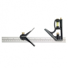 Fisher FB225M Combination Square with Centre Finder 300mm
