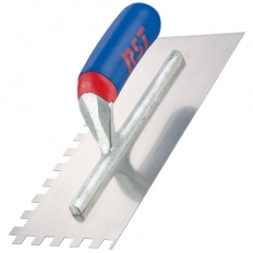 "RST RTR6260S Notched Trowel 11"" x 4.1/2"" 10mm Soft Grip"